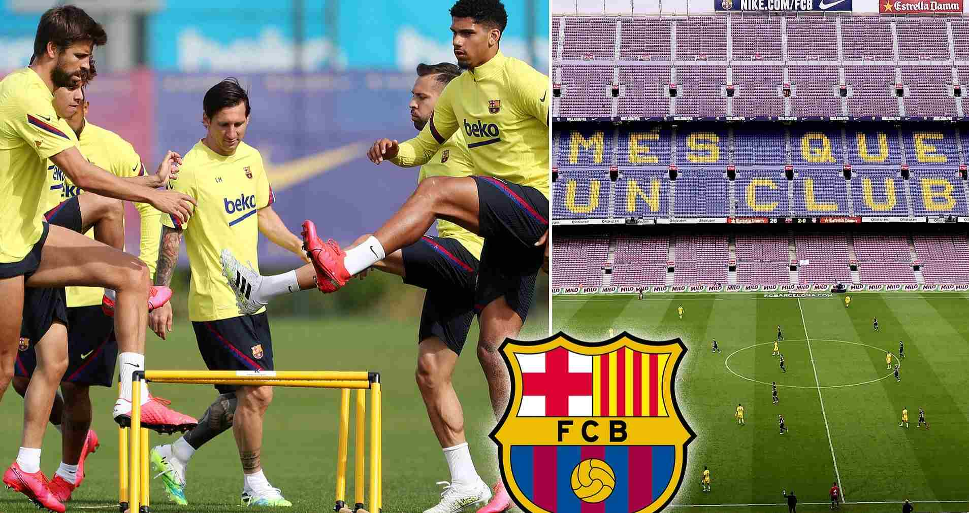 Five Barcelona players 'tested positive for coronavirus' but club kept it hidden