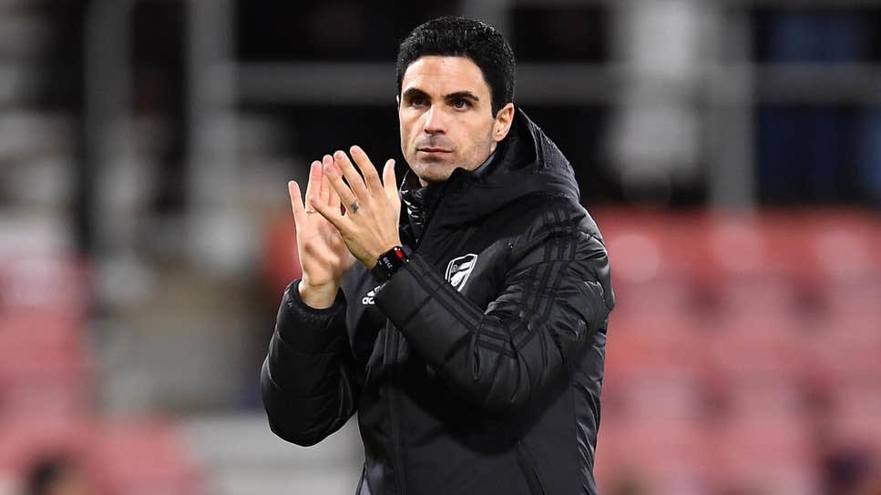 Arsenal coach Arteta