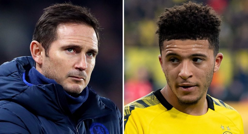 Lampard and Sancho