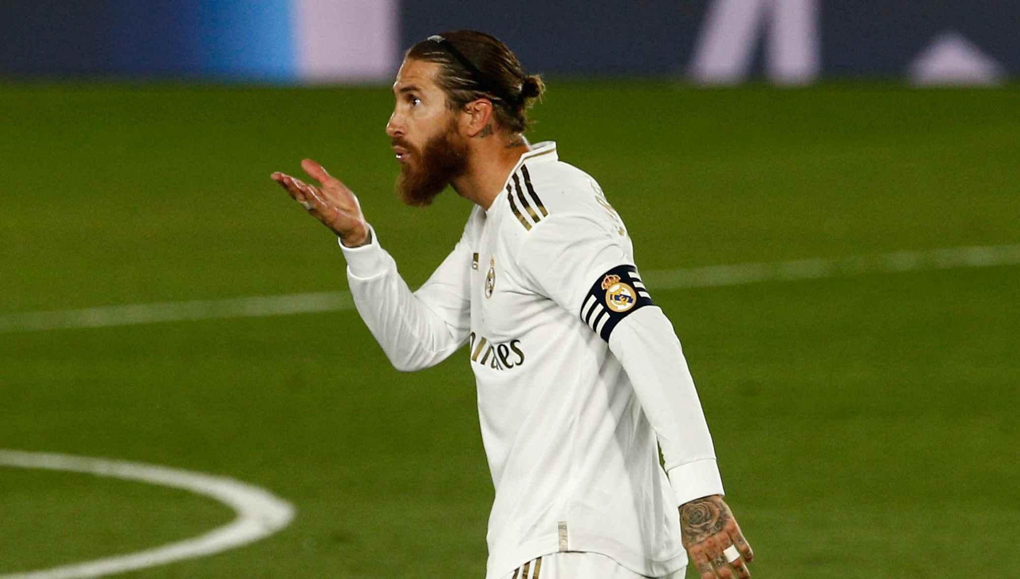 Sergio Ramos hits back at Pique's controversial VAR claim