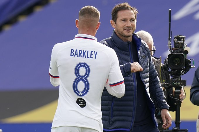 Frank Lampard and Ross Barkley