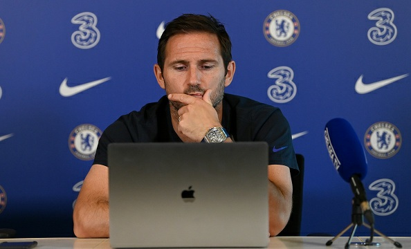 Frank Lampard says Chelsea