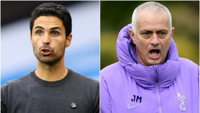 Arteta opens up on being coached by Mourinho at Barcelona