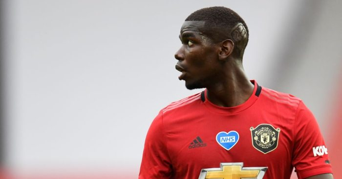 Pogba shows off injury after being 'destroyed' by United teammate in training