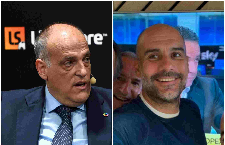 La Liga president blasts decision to overturn Man City's two-year ban