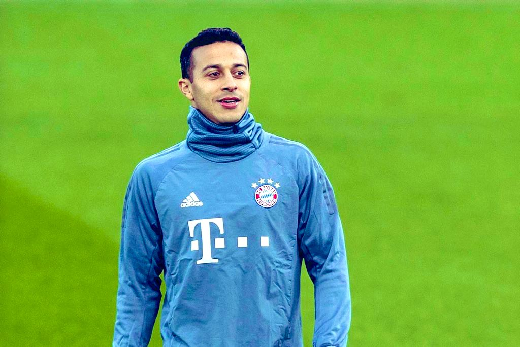 Thiago Alcantara agrees personal terms with Liverpool after Klopp's approval