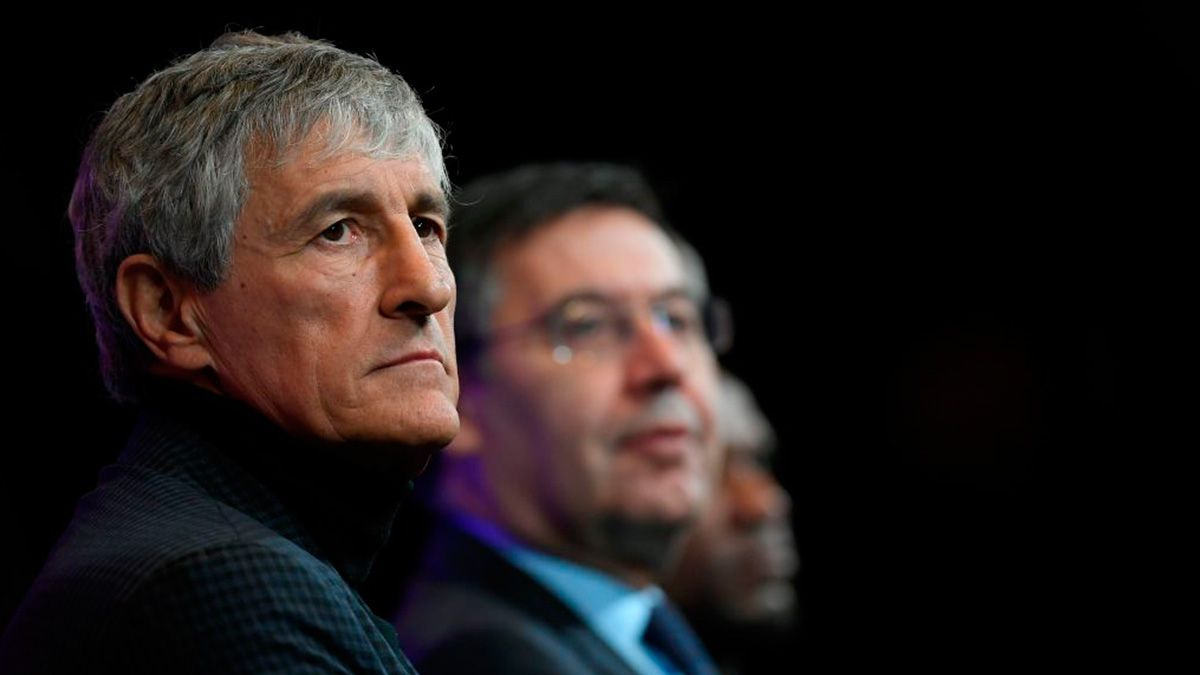 Setien admits he could be sacked as Barca coach after Messi's explosive interview
