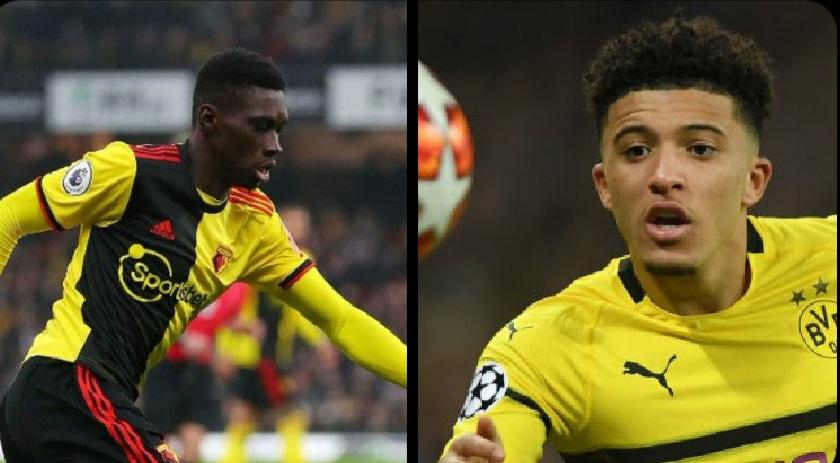 Neville says United should sign Ismaila Sarr as Jadon Sancho alternative