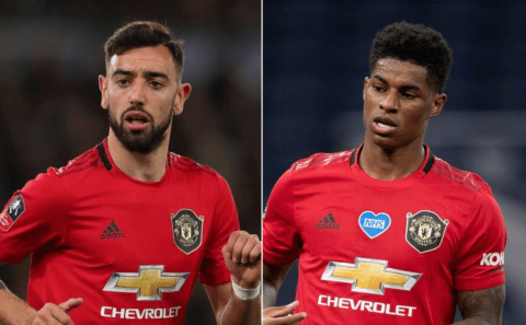 Fernandes was 'surprised' by how good Rashford was when he joined