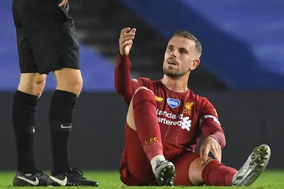 Jurgen Klopp gives injury update on Jordan Henderson after Brighton win