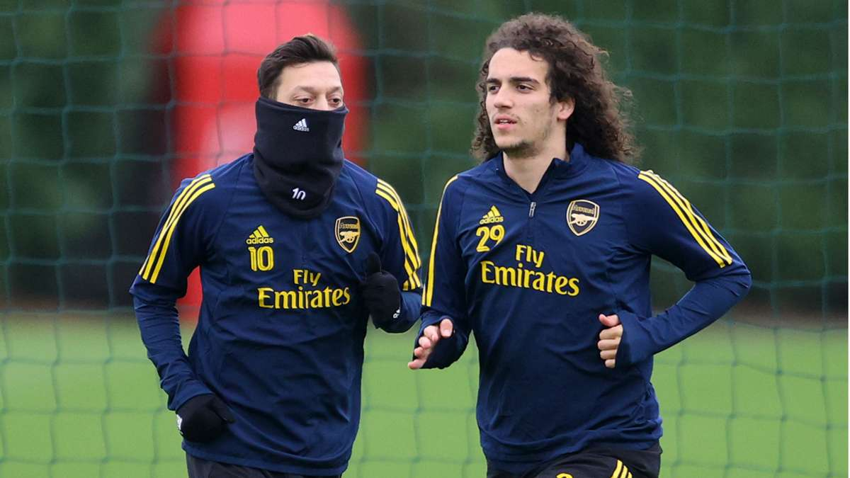 Mikel Arteta hints Mesut Ozil and Guendouzi could return to the Arsenal team