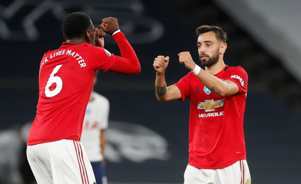 Pogba reveals Man Utd's attack with Bruno Fernandes is beautiful