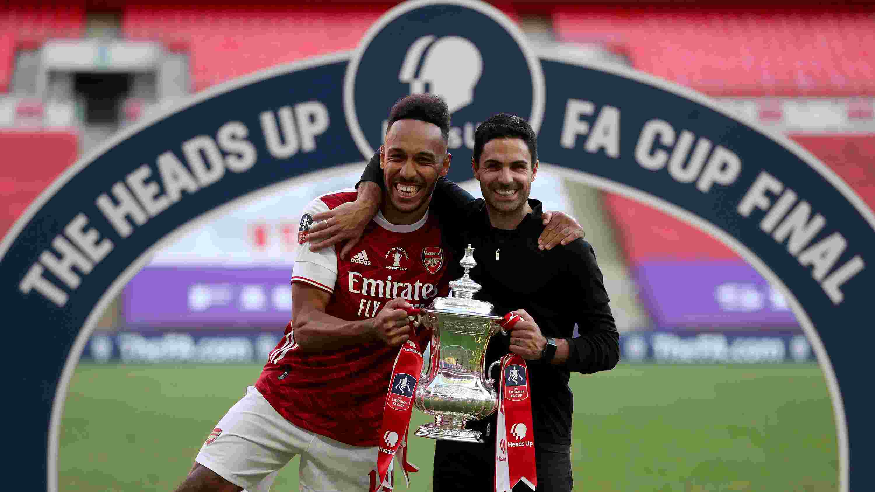 Aubameyang speaks out on his Arsenal future after FA Cup final victory