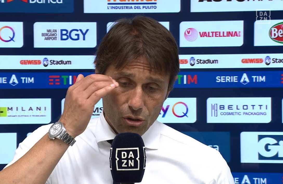 Antonio Conte hits out at Inter Milan management