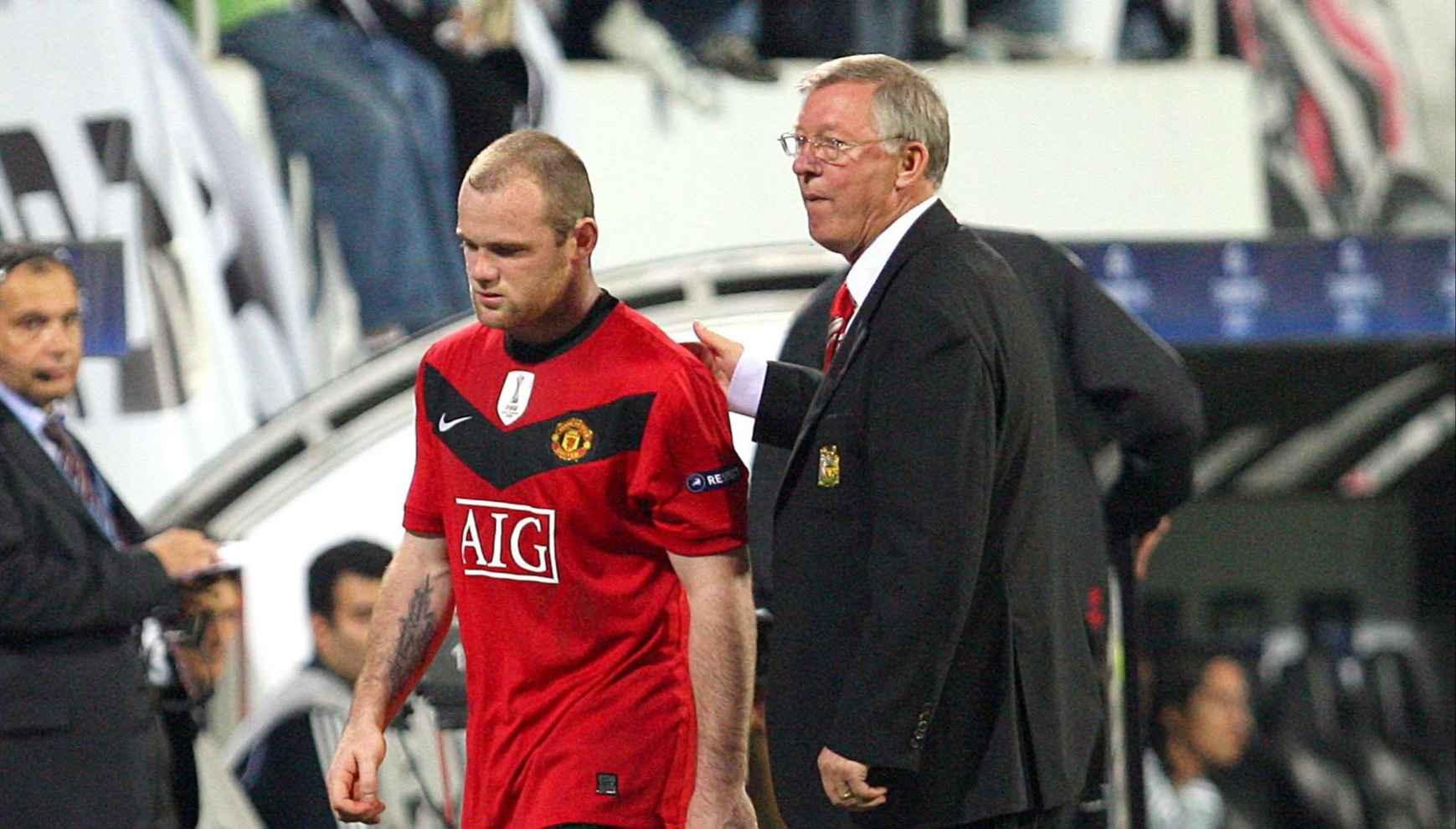 Rooney slams Sir Alex Ferguson over 'suicidal approach' against Barcelona