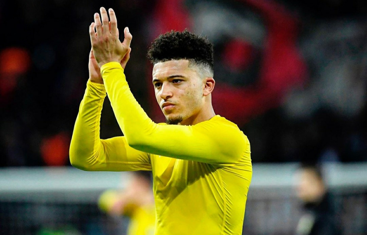 Jadon Sancho set to join Man Utd after agreeing five-year deal worth £250k-a-week