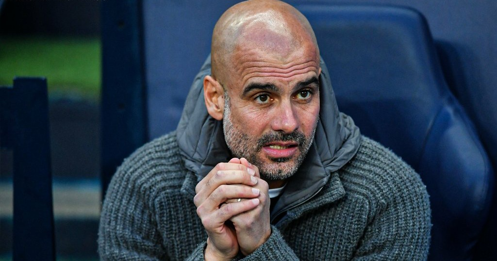 Guardiola reacts to horror Sterling miss after Man City's Champions League exit