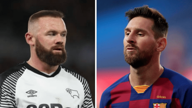Rooney sends message to Lionel Messi over United transfer