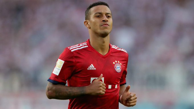 Man Utd set to hijack Liverpool transfer for Thiago Alcantara