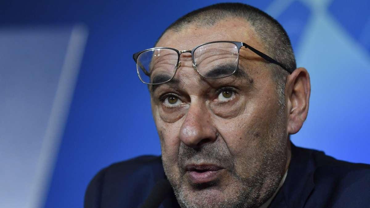 Sarri: Juventus are cursed in Champions League