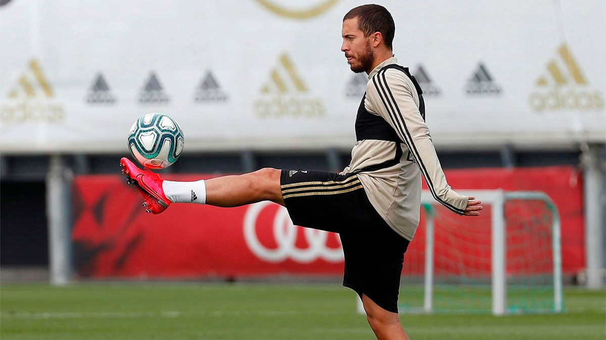 Zidane unhappy with Eden Hazard after returning to Madrid 'overweight'