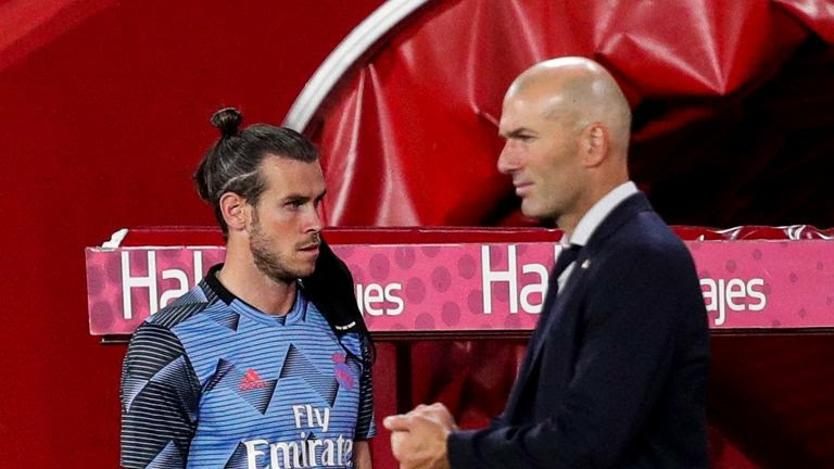Zidane gives brutally honest comments On Gareth Bale's move to Tottenham