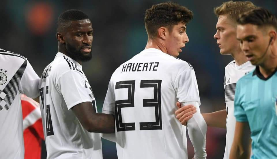 Rudiger and Havertz