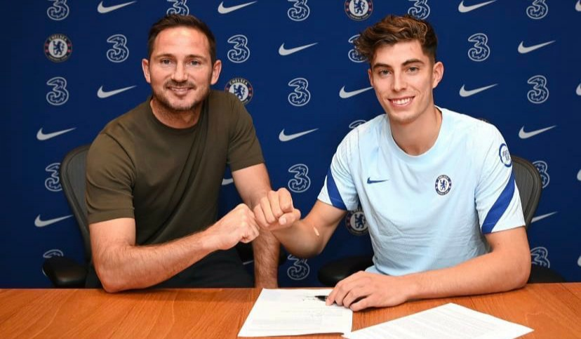 Kai Havertz joins Chelsea in £71m deal