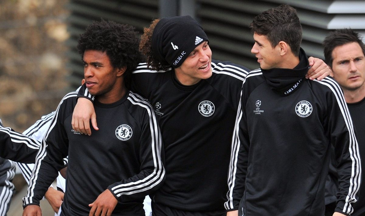 Willian david Luiz oscar