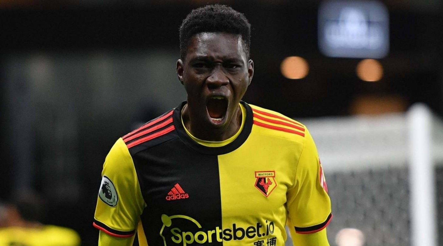 Man Utd make transfer enquiry to sign Watford winger Ismaila Sarr
