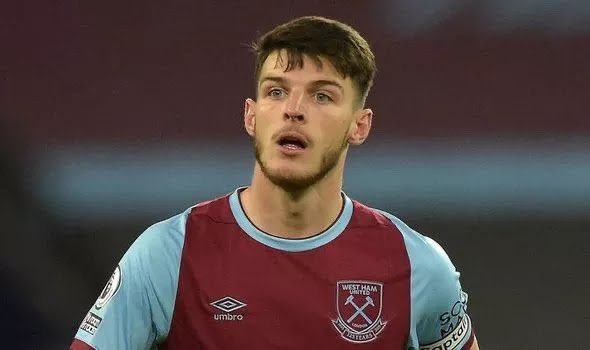 Chelsea offer two players to West Ham in exchange for Declan Rice