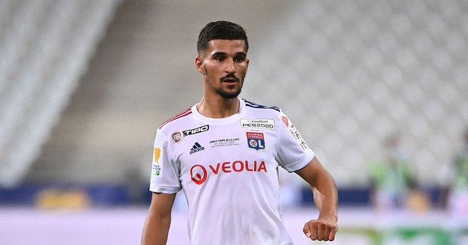 Lyon chief responds to Houssem Aouar to Arsenal transfer links