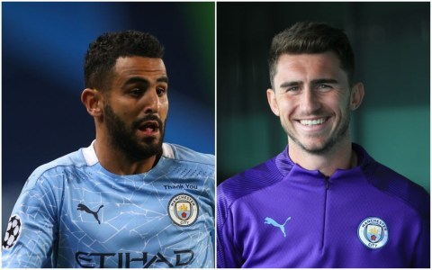 Man City duo Riyad Mahrez & Laporte test positive for coronavirus