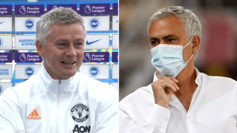 Mourinho hits back at Solskjaer with Man Utd penalty dig