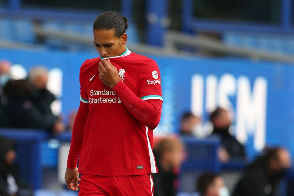 Liverpool confirm Van Dijk has suffered ACL damage & will likely be out for the season