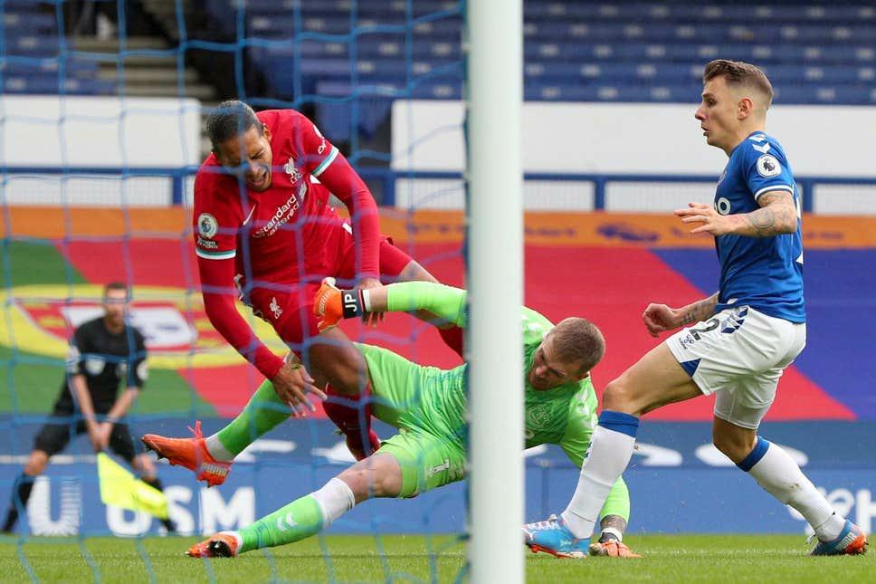 Liverpool defender Van Dijk