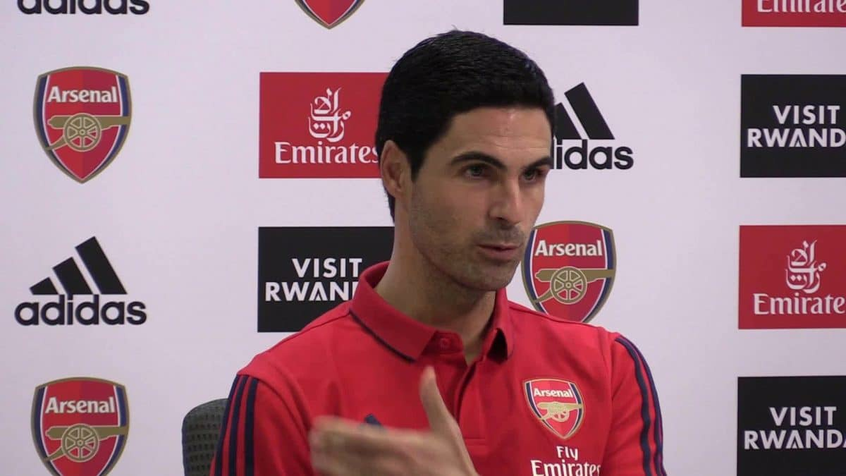Mikel Arteta names Arsenal players responsible for the defeat to Leicester City