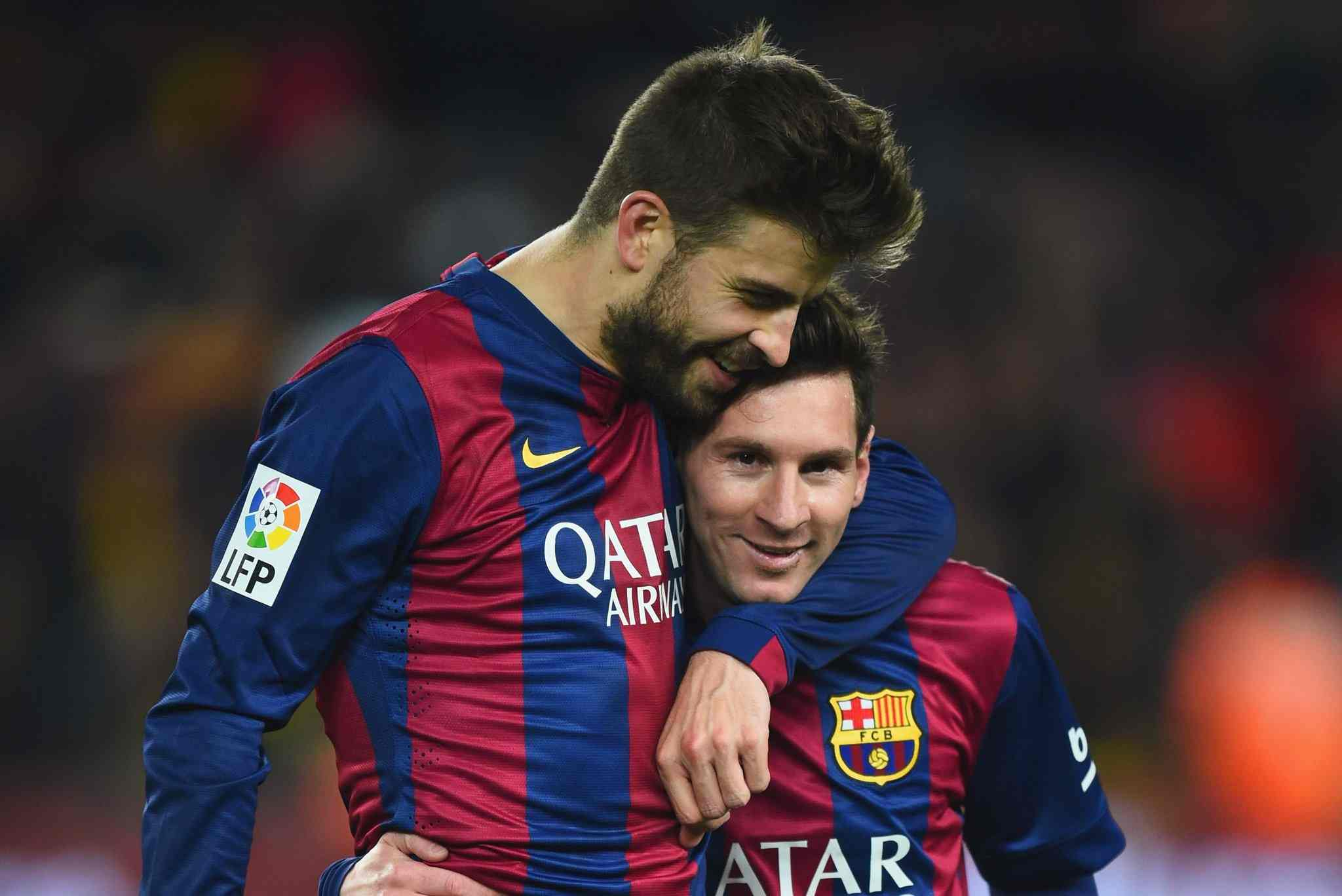 Gerard Pique hits out at Barcelona over Lionel Messi summer saga