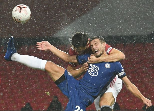 Harry Maguire hits back at Frank Lampard over 'headlock' comments