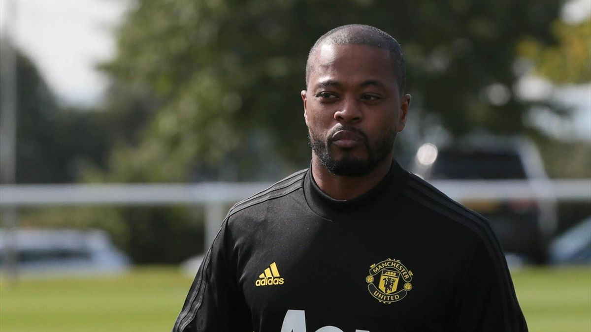 Patrice Evra lashes out at Man Utd over Donny van de Beek signing