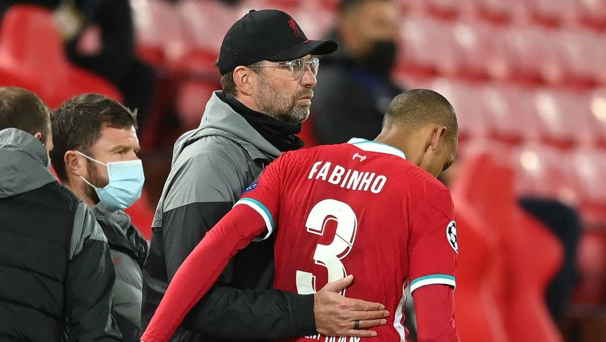 Jurgen Klopp confirms length of Fabinho injury lay-off