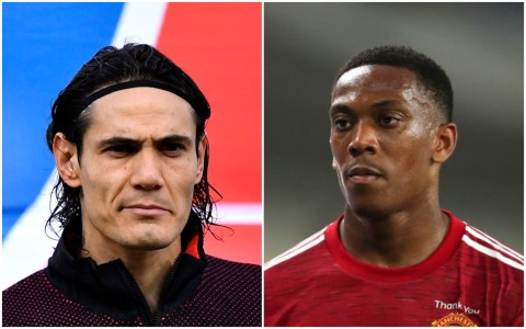 Cavani gives advice to Martial & Greenwood after Man Utd transfer