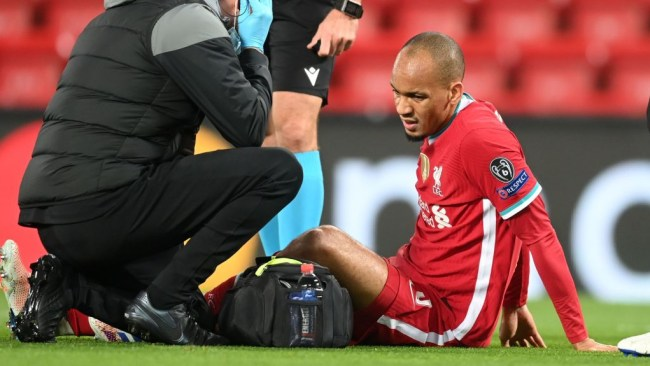 Klopp provides Fabinho injury update after Liverpool's win vs Midtjylland