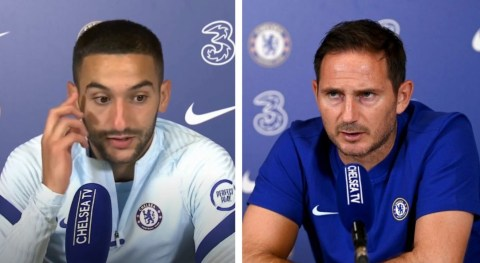 Hakim Ziyech explains how Lampard convinced him to join Chelsea
