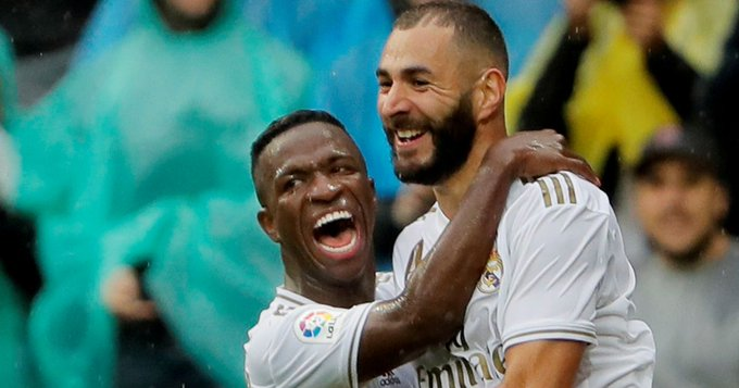 Benzema apologises to Vinicius Jr after telling team-mates not to pass to him