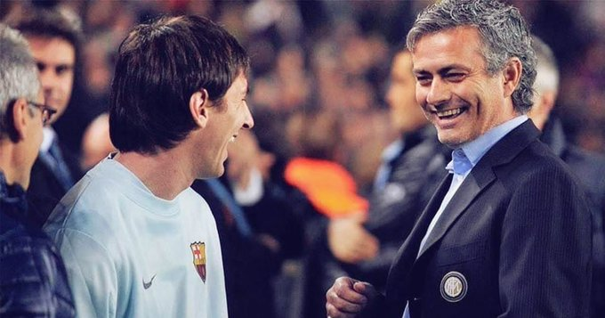 Lionel Messi spoke with Mourinho over Barcelona exit