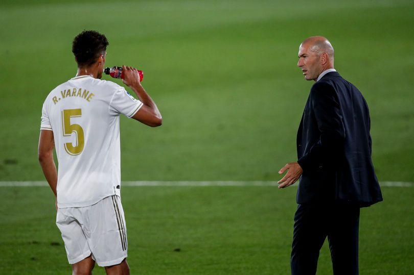 Zidane takes decision on Raphael Varane leaving Real Madrid for Man Utd