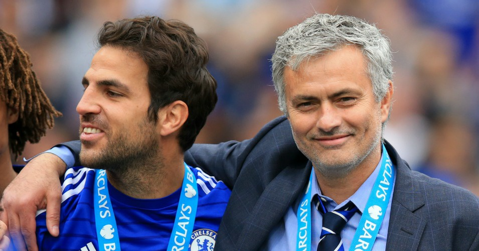 Cesc Fabregas: Mourinho is a friend, but I don't speak with Guardiola