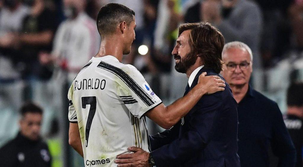 Pirlo and Ronaldo