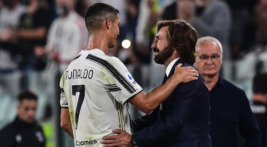 Pirlo snubs Ronaldo, names most complete player at Juventus